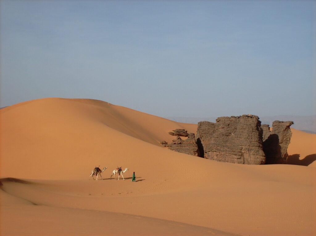 Landschaft in der Nähe von Djanet